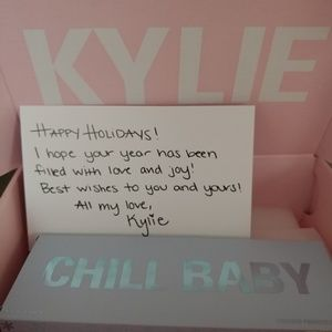 ❄NWT Kylie Chill Baby Eyeshadow Limited Edition